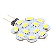 1.5w g4 led bi-pin luces 12 smd 5630 150-200 lm blanco natural dc 12 v