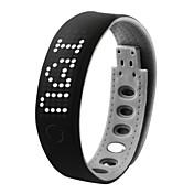 남성 손목 시계 LED 터치스크린 달력 크로노그래프 방수 경보 디지털 실리콘 밴드 블랙
