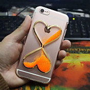 용 아이폰6케이스 / 아이폰6플러스 케이스 플로잉 리퀴드 케이스 뒷면 커버 케이스 3D카툰 캐릭터 소프트 TPU iPhone 6s Plus/6 Plus / iPhone 6s/6
