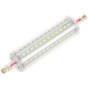 1pcs r7s 20w 144led 옥수수 조명 smd2835 1200-1300lm 따뜻한 흰색 / 시원한 흰색 dimmable ac 85-265v