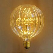 2W E26/E27 Bombillas Incandescentes 49 LED Dip 100 lm Amarillo Decorativa AC 100-240 V 1 pieza