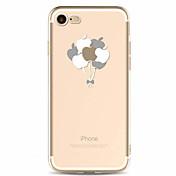 용 패턴 케이스 뒷면 커버 케이스 과일 소프트 TPU 용 Apple 아이폰 7 플러스 아이폰 (7) iPhone 6s Plus/6 Plus iPhone 6s/6 iPhone SE/5s/5