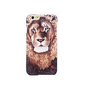 Para Congelada En Relieve Diseños Funda Cubierta Trasera Funda Animal Dura Policarbonato para AppleiPhone 7 Plus iPhone 7 iPhone 6s Plus