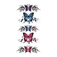 Tatuagens Adesivas Séries Animal Estampado Á Prova d'água Feminino Girl Adolescente Tatuagem Adesiva Tatuagens temporárias