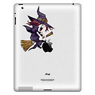 μάγισσα μοτίβο προστατευτικό αυτοκόλλητο για το iPad 1, iPad 2, iPad 3 και το νέο iPad
