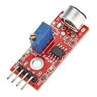 høy kvalitet (for arduino) mikrofon lyd deteksjon sensormodul