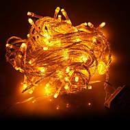 10M 100-LED Geel LED Light Kerst Decoratie String Light (220V)
