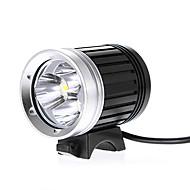 Fejlámpák Kerékpár világítás Kerékpár első lámpa LED Cree XM-L T6 Kerékpározás Vízálló 18650 2400 Lumen Akkumulátor AC töltő