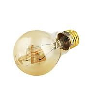 youoklight® E27 40w 400lm lämmin valkoinen hehkulamppu hehkulamppu Edison hehkulamppu (AC220V) / (ac100-130v)