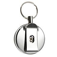 Kulcstartó Körkörös Jó minőség Kulcstartó / Kihajtható Pink Rozsamentes acél