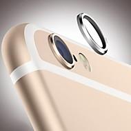 camera achter glas lens metaal beschermende hoepel ring guard cirkel geval van de dekking beschermer voor iPhone 6