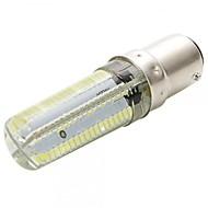 Ywxlight® dimbaar ba15d 7w 152smd 3014 600-700lm warme / koele witte geleide maïskolbe (ac110 / 220v)