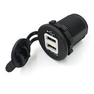 Dual USB priza auto adaptor de alimentare 12v încărcător
