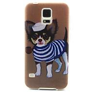 Mert Samsung Galaxy tok Minta Case Hátlap Case Kutya TPU Samsung S6 edge / S6 / S5 Mini / S5 / S4 Mini / S4 / S3 Mini / S3