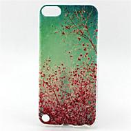 kersenbloesem schilderen patroon TPU zachte hoes voor ipod touch 5