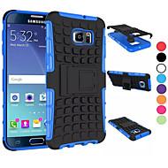 Για Samsung Galaxy Θήκη Ανθεκτική σε πτώσεις / με βάση στήριξης tok Πίσω Κάλυμμα tok Πανοπλία PC SamsungS6 edge plus / S6 edge / S6 / S5