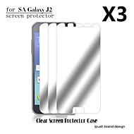 ipush υψηλή διαφάνεια προστατευτικό οθόνης καθρέφτη lcd για Samsung Galaxy J2 (3 τεμάχια)