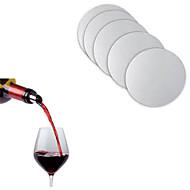 10 세트 재사용 빨 주류 뿌리개 디스크 호일 와인 뿌리개 주스 바 병 주둥이 마개,