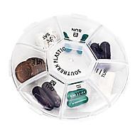 Gyógyszeres doboz/tok utazáshoz Hordozható Összecsukható mert Tartozékok sürgősségi esetekre