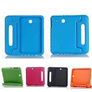 Mert Samsung Galaxy tok Ütésálló / Állvánnyal / Gyermekbiztos Case Teljes védelem Case Egyszínű Szilikon Samsung Tab E 9.6