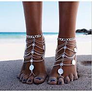 Dames Enkelring /Armbanden Legering Uniek ontwerp Modieus Meerlaags Europees PERSGepersonaliseerd Bikini Kostuum juwelen Sieraden Sieraden