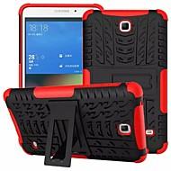 Kompatibilitás Samsung Galaxy tok tokok Ütésálló Állvánnyal Hátlap Case Páncél PC mert Samsung Tab 4 7.0 Tab S2 8.0
