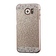 Mert Samsung Galaxy S7 Edge Strassz Case Hátlap Case Csillámpor PC Samsung S7 edge / S7 / S6 edge / S6 / S5 / S4 / S3