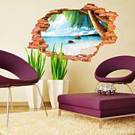 Botanisk / Landskap Wall Stickers 3D mur klistermærker,PVC 60*90CM
