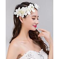δαντέλα λουλούδι κρύσταλλο μαργαριτάρι στρας κορδέλα στο μέτωπο μαλλιά κοσμήματα των γυναικών για το κόμμα του γάμου