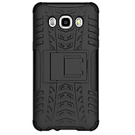 Na Samsung Galaxy Etui Odporne na wstrząsy Kılıf Etui na tył Kılıf Zbroja PC Samsung J7 / J5 (2016)