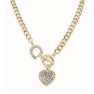 Dames Hangertjes ketting Parelketting Verklaring Kettingen Parel Legering Modieus verklaring Jewelry Goud SieradenSpeciale gelegenheden