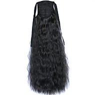 Black Lace onda profunda peruca milho rabos de cavalo quentes 2