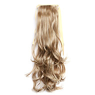 comprimento prata 50 centímetros a nova encaracolados cinto peruca melange tipo de cavalinha (cor 10/613)