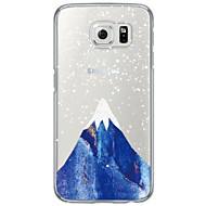 For Samsung Galaxy S7 Edge Transparent Mønster Etui Bagcover Etui Landskab Blødt TPU for Samsung S7 edge S7 S6 edge plus S6 edge S6 S5 S4