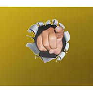 3D Wall Stickers Fly vægklistermærker Dekorative Mur Klistermærker,PVC Materiale Kan fjernes / Kan Omposisjoneres Hjem Dekor
