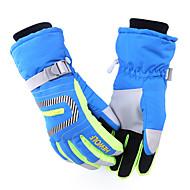 skid~~POS=TRUNC Dam Herr Unisex Aktivitet/Sport Handskar Håller värmen Vattentät Vindtät Hewolf Skidåkning Cykelhandskar Skidhandskar