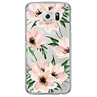 Για Samsung Galaxy S7 Edge Εξαιρετικά λεπτή / Ημιδιαφανές tok Πίσω Κάλυμμα tok Λουλούδι Μαλακή TPU SamsungS7 edge / S7 / S6 edge plus /