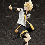 코스프레 Kagamine Len PVC 22cm 애니메이션 액션 피규어 모델 완구 인형 장난감