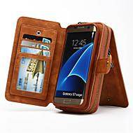 multifunkcionális a hordozható valódi bőr pénztárca esetében Samsung Galaxy S4 s8 s5 s6 szélén plusz s7 szélén