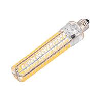 디 밍이 가능한 E11 15w 136 SMD 5730 1200-1400lm 따뜻한 / 차가운 백색 AC 110 / 220V를 ywxlight®