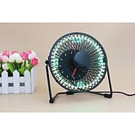 잡다한 것 UF-240-07 130cm Clock Fan with Floating LED Time Display  145*168*115 블랙