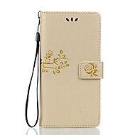 Do Sony Xperia z5 premium z5 kompaktowa skóra pu materiał podwójny tłoczony solidny kolor obudowa telefonu do z5 x xa xp