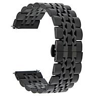 Voor samsung versnelling s3 grens / klassieke versnelling 22mm 316l roestvrij staal horlogeband