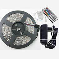 W RGB Şerit Işıklar lm AC100-240 5 m 150 led Sıcak Beyaz Beyaz Kırmızı Sarı Mavi Yeşil