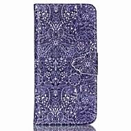 For Apple iPhone 6s pluss 6plus 6s 6 5 5s se veske deksel kortholder lommebok med stativ flip mønster full body tilfelle blomst hard pu