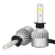2db H1 fényszóró 36W 3600lm Philips LED készlettel magas alacsony sugár helyére halogén xenon