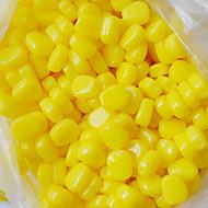 """60 τεμ Atrăgătoare Pescuit Μαλακό Δόλωμα Κίτρινο ζ/Ουγκιά,10 mm/<1"""" ίντσα,Μαλακό ΠλαστικόΔολώματα πετονιάς Ψάρεμα Γλυκού Νερού Ψάρεμα"""