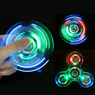 Fidget Spinners Przędzarka ręczna Zabawki Tri-Spinner Metal EDCStres i niepokój Relief Zabawki biurkowe Za czas zabicia Focus Toy Zwalnia