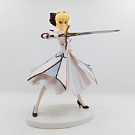 Anime Akciófigurák Ihlette Fate/Stay Night Lily szablya PVC 18 CM Modell játékok Doll Toy