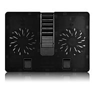 حامل قابل للتعديل قابلة للطى أجهزة الكمبيوتر المحمول الأخرى ماك بوك لابتوب الكل في 1 الوقوف مع مروحة التبريد معدن